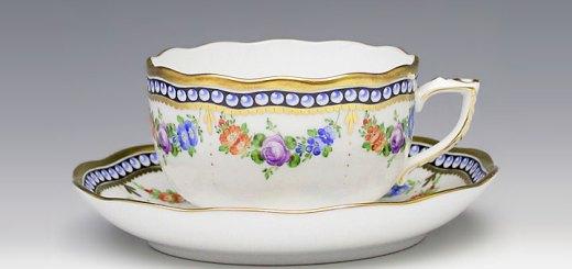 ヘレンド GPN 真珠の首飾 20724/0/00 ティーカップ&ソーサー