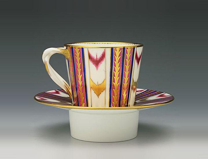 セーブル ゴブレット 差し込み様式カップと鞘受け皿 ( Sevres Goblet Cup And Saucer )