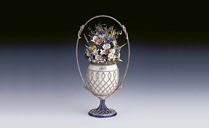 ファベルジェの卵 花籠 1901 ( Fabergé Imperial Eggs Basket Of Flowers )