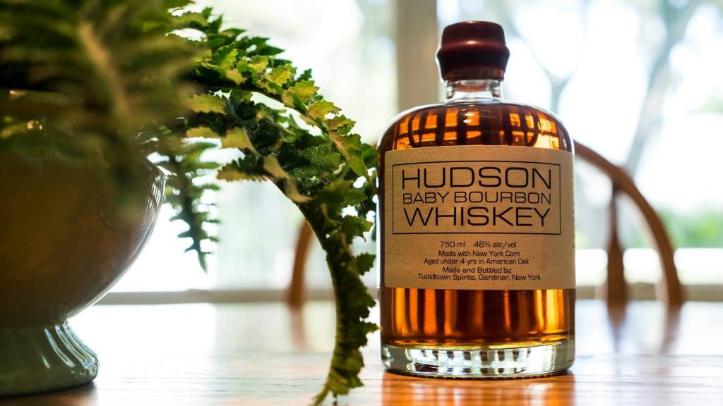 hudson whiskey, bourbon, whiskey, baby bourbon