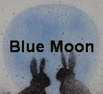Blue moon inspired silhouettes
