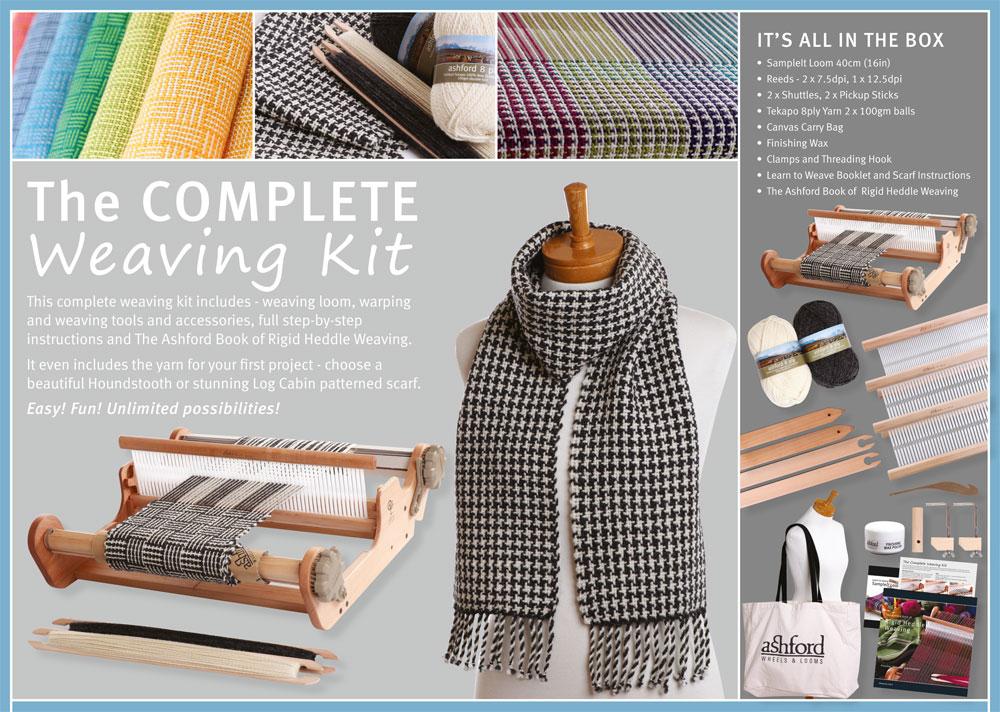 Complete weaving kit