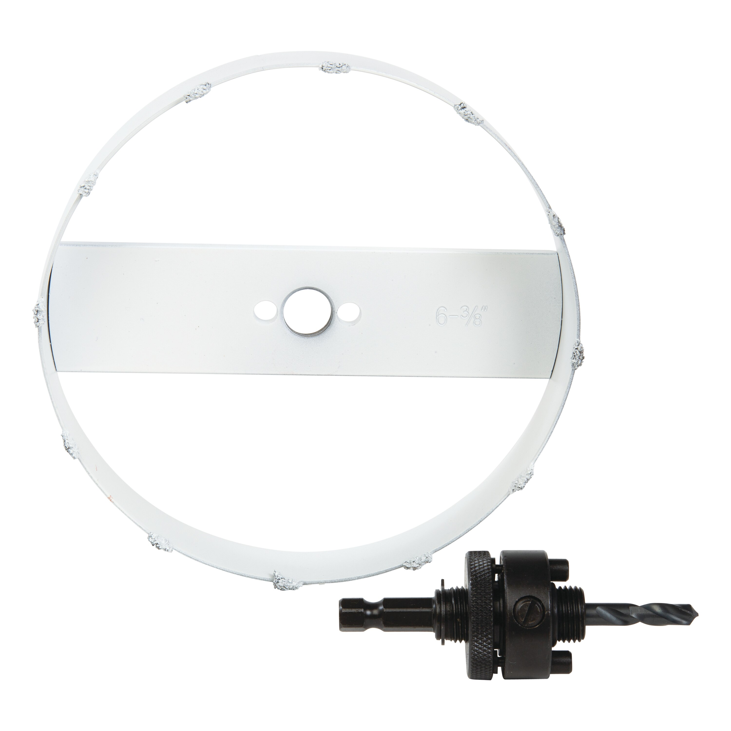 recessed lighting hole saw with arbor