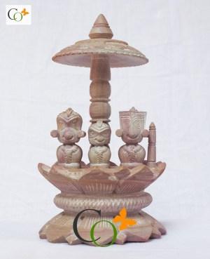 p01328-dsc-0170-pink-soapstone-jagannath-ji-unique-statues-on-mandap-6-inch
