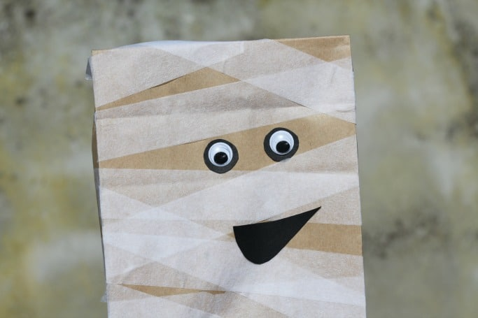 Paper Bag Mummy, by Crafts on Sea