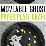 Movable Paper Plate Ghost Craft Crafts On Sea