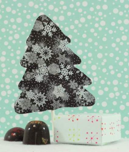 Chocolate Christmas Tree