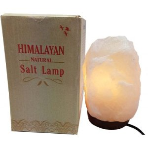 Himalayan White Salt Lamp