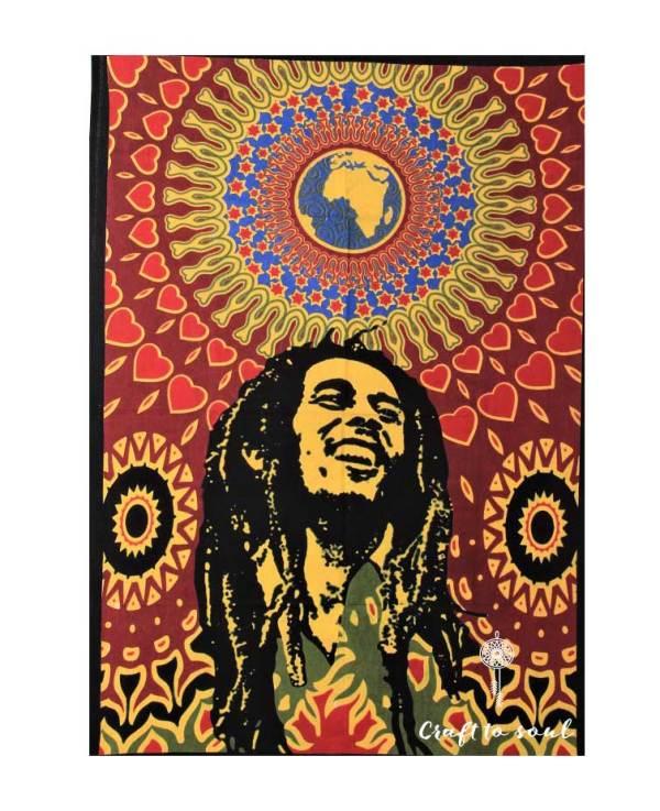 Bob Marley Mandala Wall Hanging