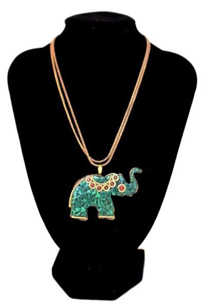 Elephant Stone Pendant