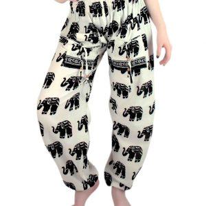 Elephant Print Yoga Pant