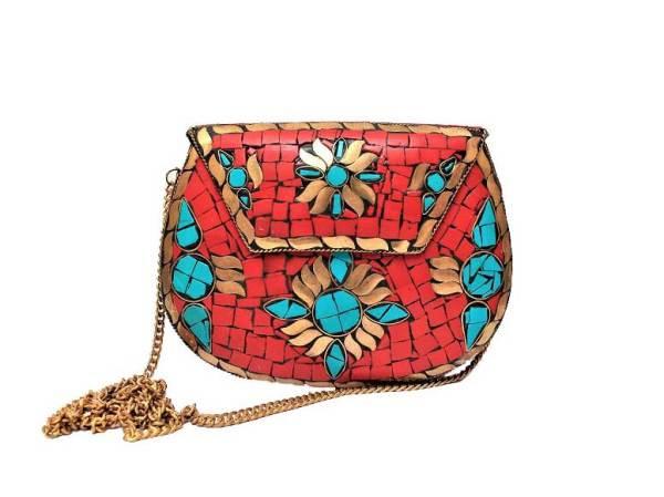 Gemstone Clutch Bag