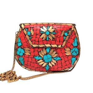 Gemstone Clutch Bag