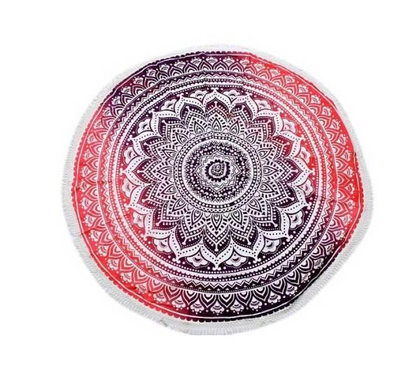 Mandala Pink Round Tablecloth