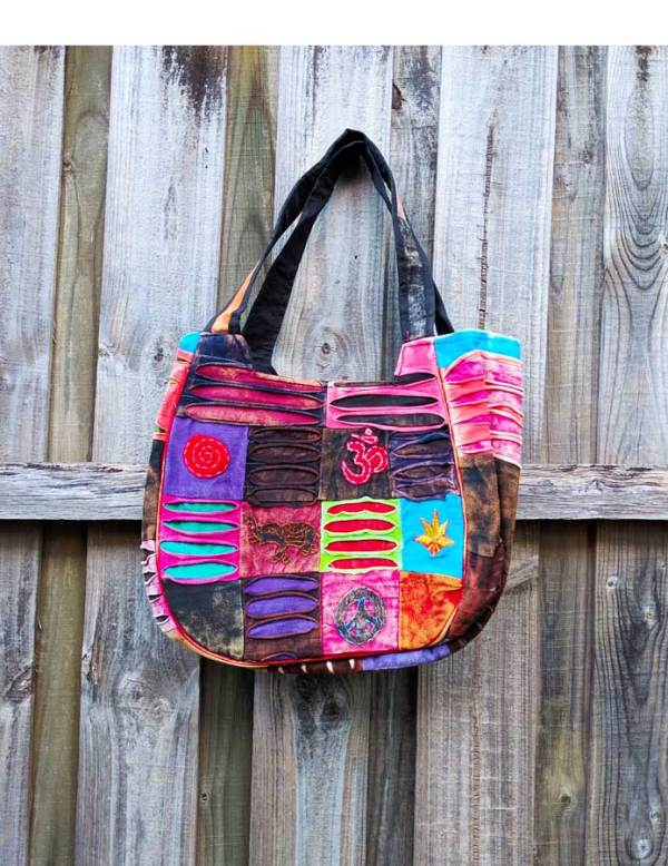 Hippie Razor Cut Tote Bag