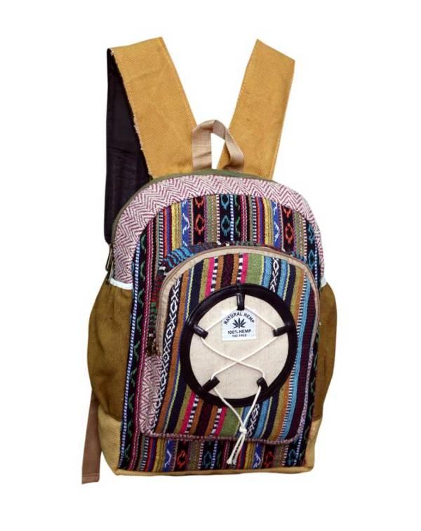 Sacred Geometry Hemp Backpack