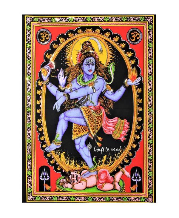 Trance Shiva Tapestry
