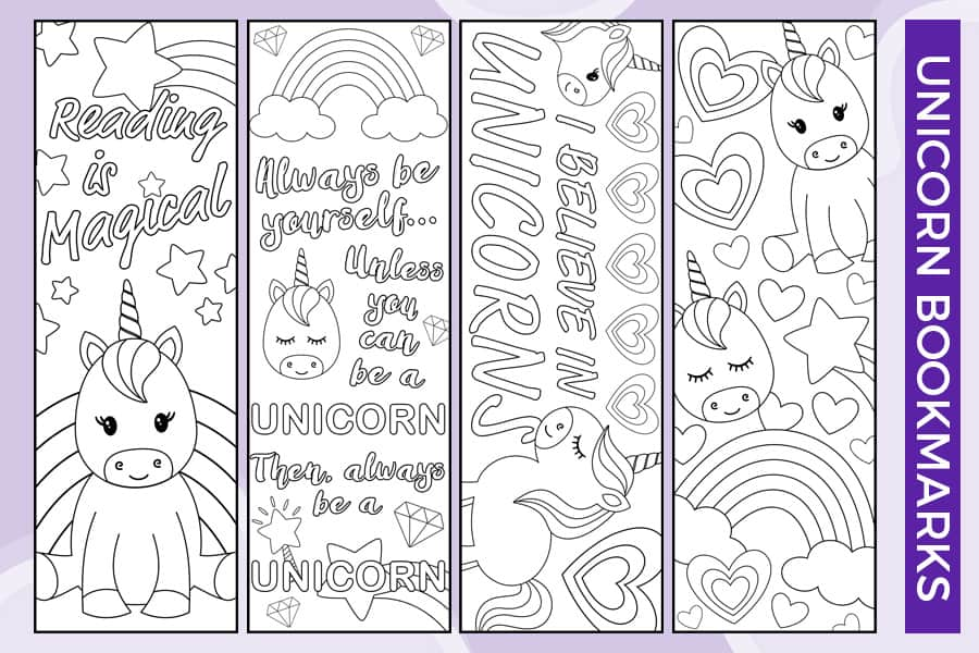 free printable bookmarks to color for adults