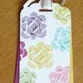 Pretty Bookmark style tag