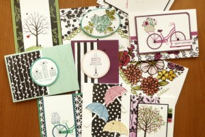 Cards using Stampin' Up product