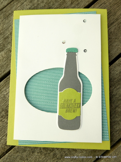 Have a birthday brew card