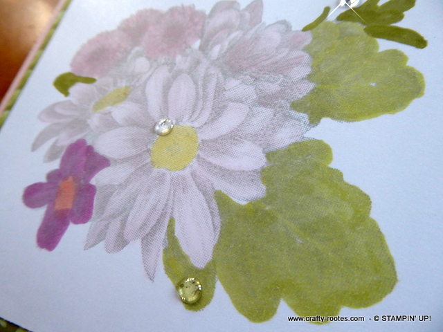 Gorgeous soft pastel thank you card