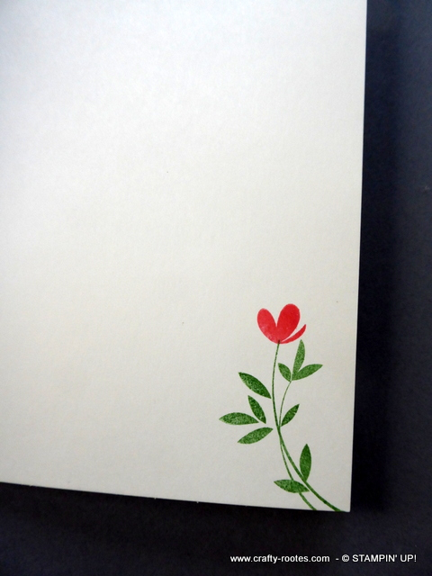 Sweet delicate floral card