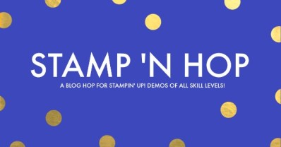Stamp 'N Hop blog hop by Mo Rootes