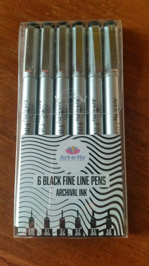 Art-N-Fly Fine Line Pen Review