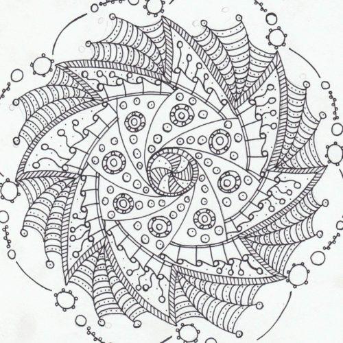 Crafty Web Mandala!