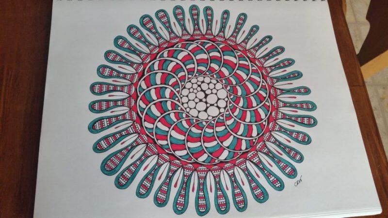 Splat Mandala