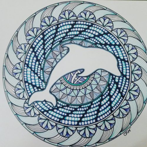 Gift - Dolphin Mandala