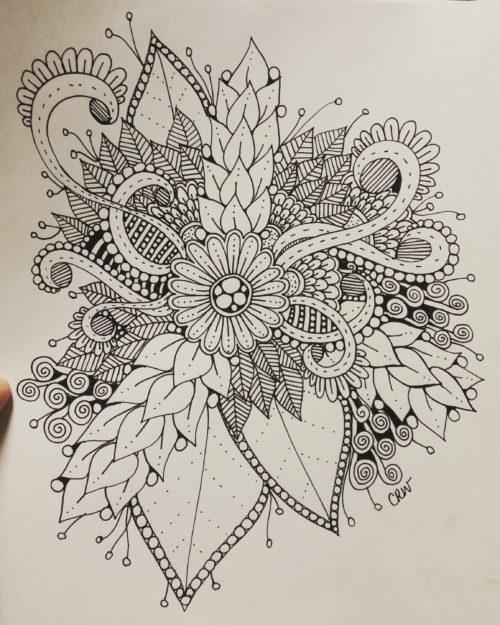 Floral Doodle