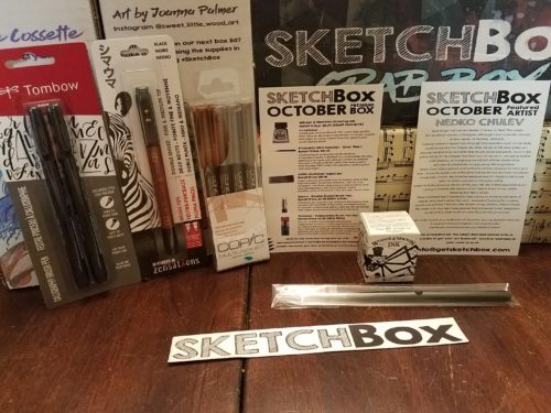 October 2017 Premium Sketchbox