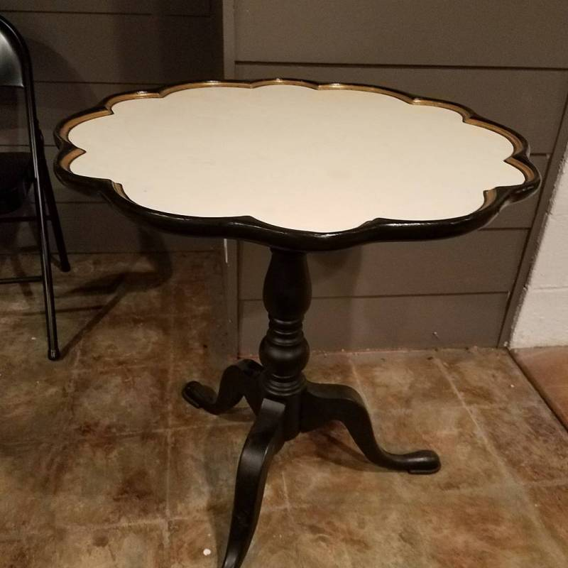 Scalloped Table
