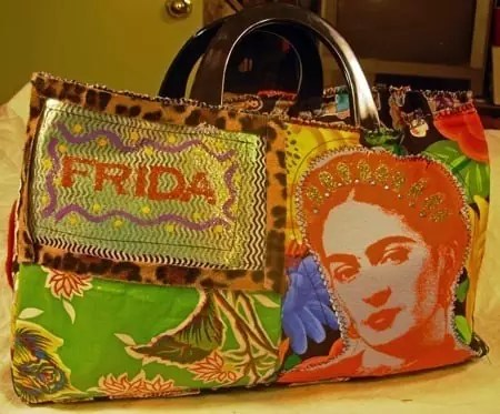 Frida purse by Crafty Chica