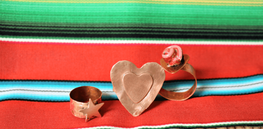 Torched Copper Ring tutorial by Crafty Chica