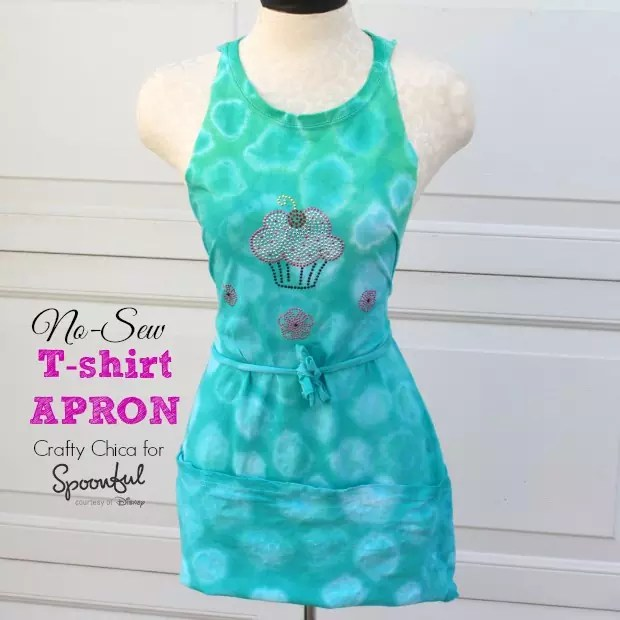 How to make a t-shirt apron.