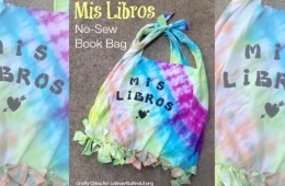 Mis Libros Book Bag by Crafty Chica.
