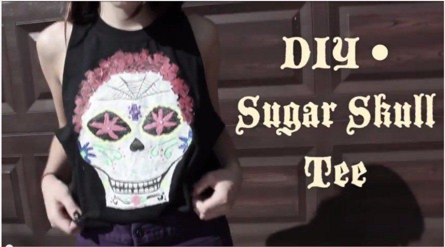 21 Ways to Make a Skull Shirt - Crafty Chica™