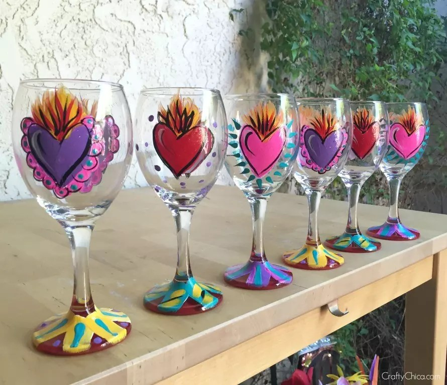 painted-glasses