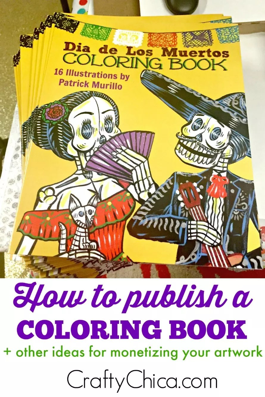 diy coloring book - How To Publish A Coloring Book