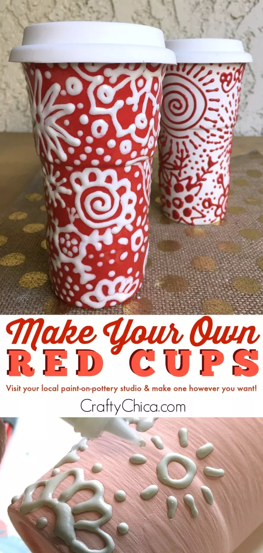 Make your own red cup CraftyChica.com