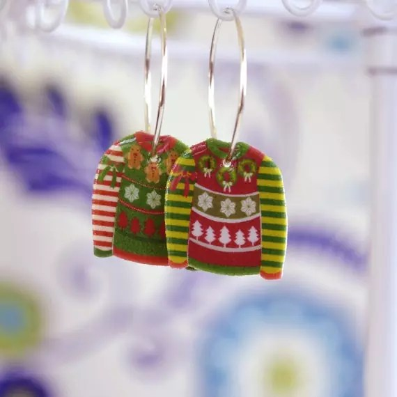 ugly-sweater-earrings