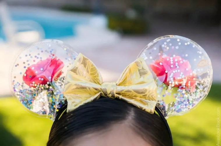 DIY Mickey Ears: Enchanted Roses for Beauty and the Beast