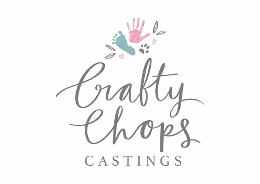Home ⋆ Crafty Chops Castings: Baby Hand and Foot Casting