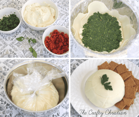 If you're looking for an incredibly flavorful holiday appetizer sure to knock the socks off anyone at a party, then look no further! This pesto cheese blossom is a mixture of cream cheese, garlic, pesto, sun dried tomatoes, and provalone. It's such an incredible snack, I can't recommend it enough!