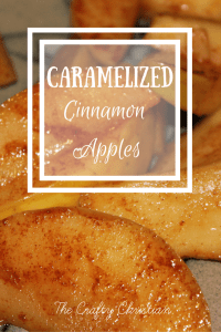 Cinnamon Caramelized Apples Dessert {Recipe}