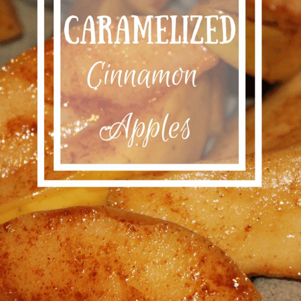 Cinnamon Caramelized Apples Dessert {Recipe}