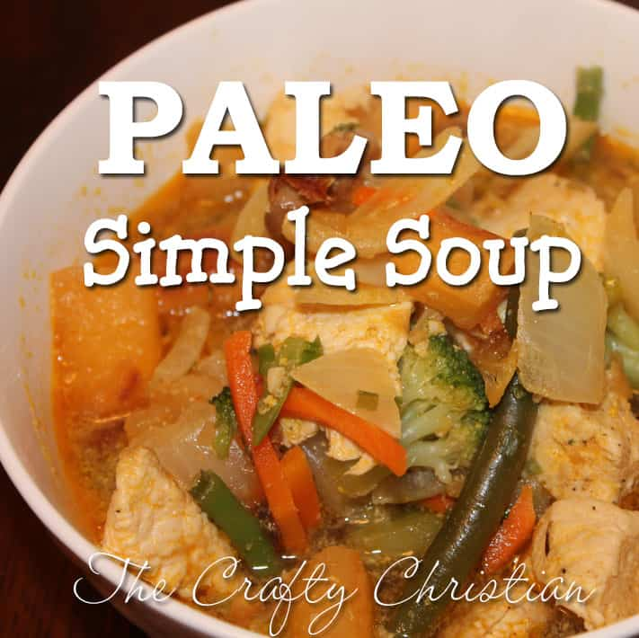 Paleo Simple Soup   The Crafty Christian